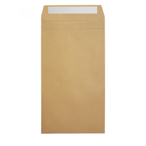 SEED PROOF POCKET ENVELOPE BROWN RECYCLED PAPER