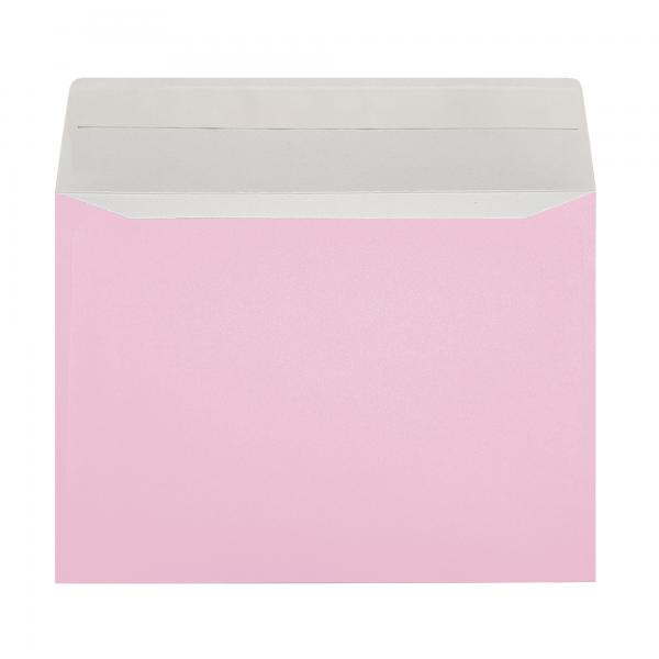 pink envelope peel and seal gender reveal party wedding favor florist